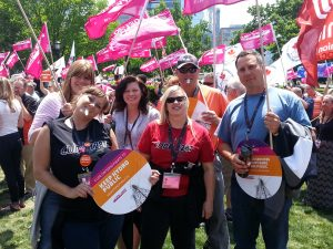 2015 - CUPE O.D., Rally