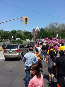 2015 - CUPE O.D., Rally Walk